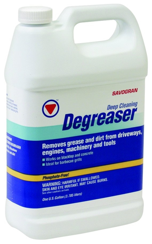 Savogran 10733 driveway deep cleaning degreaser 1 gal 11 for Concrete cleaner degreaser