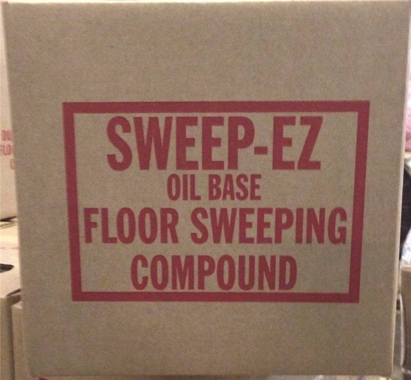 Sorb All 3110 Oil Based Sweeping Compound 10 Lb
