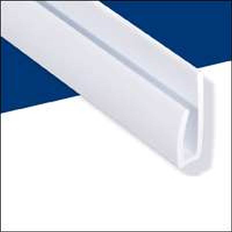 Wall Tuff 92588 Cap Molding 8 Ft L White 100 Recycled