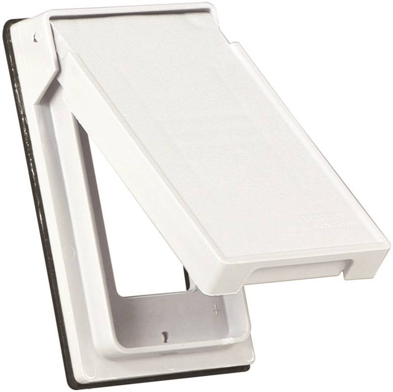 Cooper Industries S2966W SP Weatherproof Outlet Cover, 1 Gang, 2.95 In L
