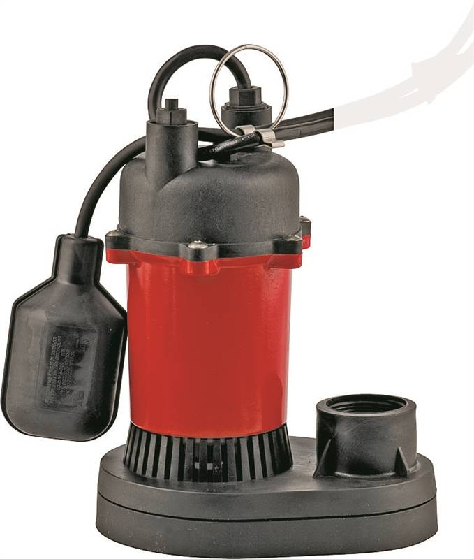 Electric Sump Pump ~ Franklin electric automatic submersible sump pump