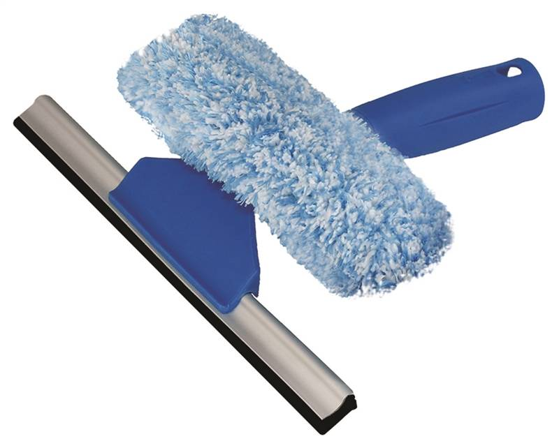 Unger 965640 Squeegee Scrubber 6 In Rubber