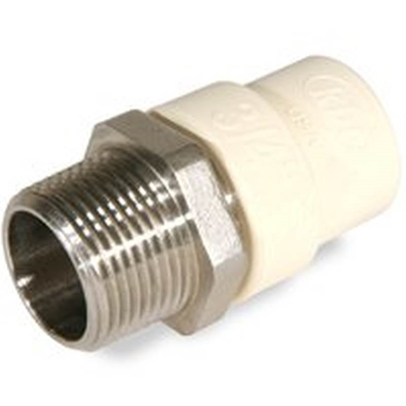 Kbi tms pipe to tube adapter in mnpt cts
