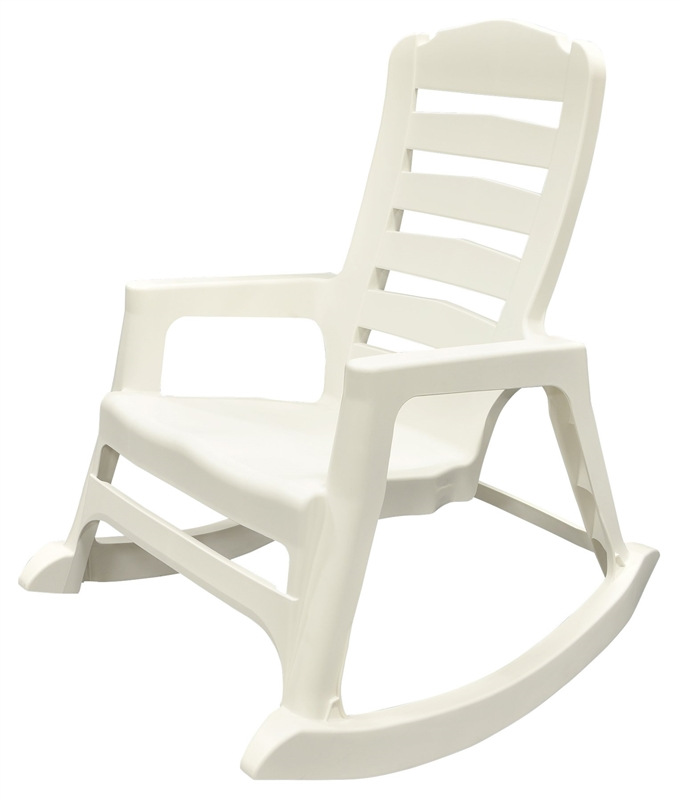 Chair Rocking Stacking White Case Of 2