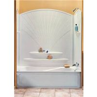 Maxx Decora 101592-000-129 5-Piece Bathtub Wall Kit