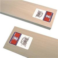 Midwest Products 4302  Basswood Sheets