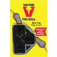 Victor M944 Preset Reusable Tri-Kill Mouse Trap