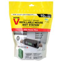 STATION BAIT MOUSE REFILL 10CT