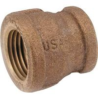 Anderson Metal 738119-0602 Brass Pipe Reducing Coupling