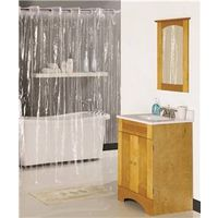 Homebasix XG-02-CL Shower Curtains