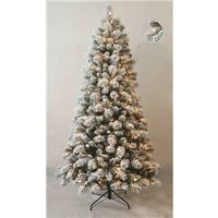 TREE HOLIDAY CLR PRELIT 7FT
