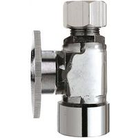 Plumb Pak PP53-1PCLF 1/4 Turn Straight Shut-Off Valve