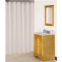 Homebasix XG-02-WH Shower Curtains
