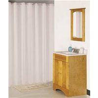 Homebasix XG-02-WH Shower Curtains