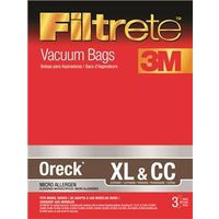 Filtrete 68710-6 Micro Allergen Type XL and CC Vacuum Cleaner Bag