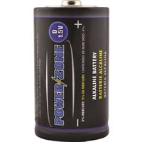 Powerzone LR20-4P-DB Alkaline Battery