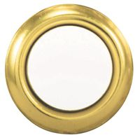 BUTTON PUSH LIGHTED GOLD
