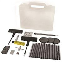 Bell 00126-8 Deluxe Tire Toolbox Kit With Clear Carrying Case