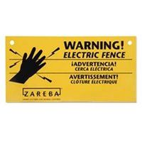 Zareba WS3 Warning Sign