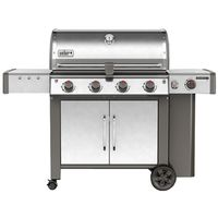 GRILL LP SS 4-BURNER W/SIDE