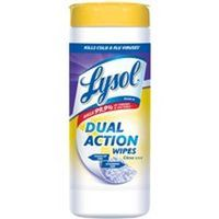 Lysol Dual Action 1920081143 Disinfecting Wipe