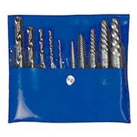 Hanson 11117 Combination Extractor Drill Bit Set