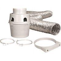 Proflex TDIDVKZW Indoor Dryer Vent Kit