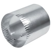 DUCT CONNECTOR ALUMINUM 4INCH