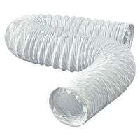 DUCT FLEXIBLE VNYL WHT 4X20FT