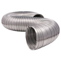 DUCT SEMI-RIGID ALUM 4INX5FT