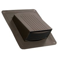 CAP ROOF EXHAUST BROWN 4IN