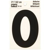 Hy-Ko RV Reflective Weather Resistant Letter Tag