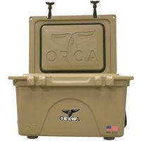 COOLER 26 QUART TAN INSULATED