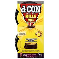 D-CON 1920082043 No-Touch No-View Mouse Trap