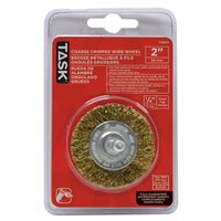 WHEEL WIRE MTL 2IN 1/4IN SHNK