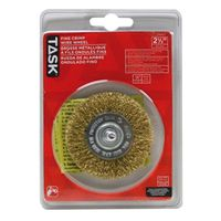 WHEEL WIRE 2-1/2IN 1/4IN SHNK