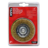 WHEEL WIRE MTL 3IN 1/4IN SHNK
