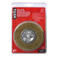 WHEEL WIRE MTL 4IN 1/4IN SHNK