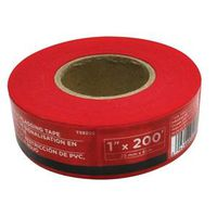 TAPE FLAGGING 1INX200FT RED