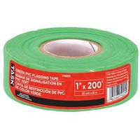 TAPE FLAGGING 1INX200FT GRN