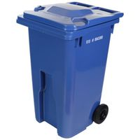 CAN GARBAGE 64GAL/240L BLUE