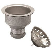PlumbPak PP5412 Kitchen Basket Strainer With Fixed Cup Lock