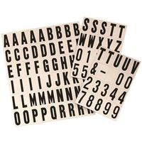 Hy-Ko MM-21 Reflective Letter and Number Set