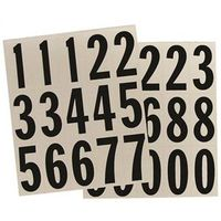 Hy-Ko MM-22N Reflective Number Set