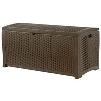 DECK BOXES JAVA RESIN WICKER