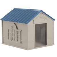 HOUSE DOG RESIN LT TAUPE LARGE