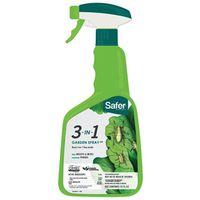 Safer 5452 3-In-1 Ready-To-Use Garden Killer