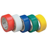 TAPE ELECTRIC COLORED 3/4X12IN