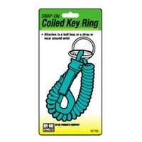 Hy-Ko KT153 Coiled Key Ring