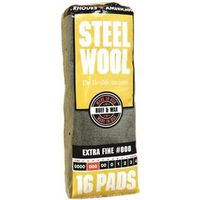 Homax 106601-06 Steel Wool Pad